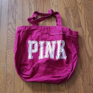 Victoria's Secret Pink Zipper Tote